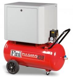Fini Kolbenkompressor SILENT PULSAR/S 103-90-3M Riemengetrieben