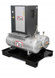 Fini Schraubenkompressor DUO-MICRO SE 4.0-10 2x100