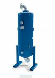 Aktivkohleadsorber ATC 155 DN80 Durchfluss 1550 m³/h
