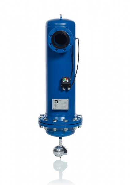 Aktivkohlefilter FF080-01 CA DN80 Durchfluss 1400 m³/h