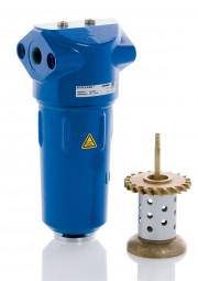 Wasserabscheider F50 WS G3/8 Durchfluss 52 m³/h